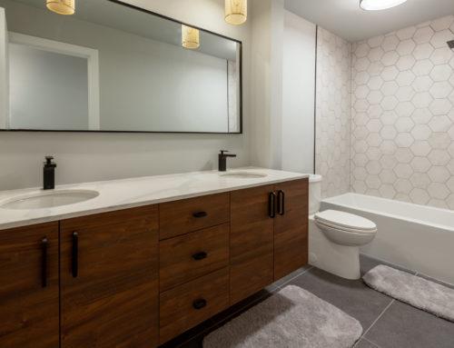 Suite Home Renovations – Bathroom, Plumbing, Tile, Framing, Lighting
