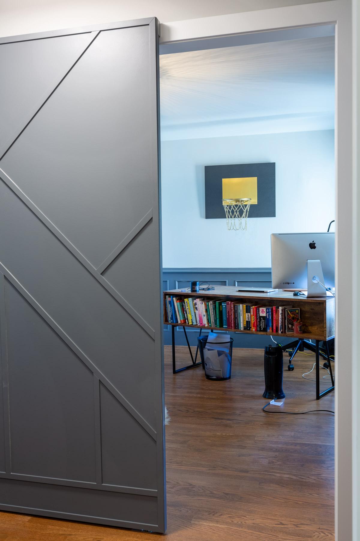 Suite Home Renovations – Barn Door with Hidden Track