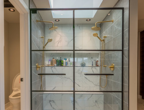 Suite Home Renovations – New Bathroom, Walk in Shower, Framing, Electrical, Tilework, Custom Glass Shower, Bidet